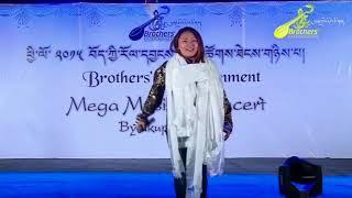 Tibetan Musical Concert 2015 @ Bylakuppe(Tenzin Dolma) Bollywood Hindi Mashup Cover Song