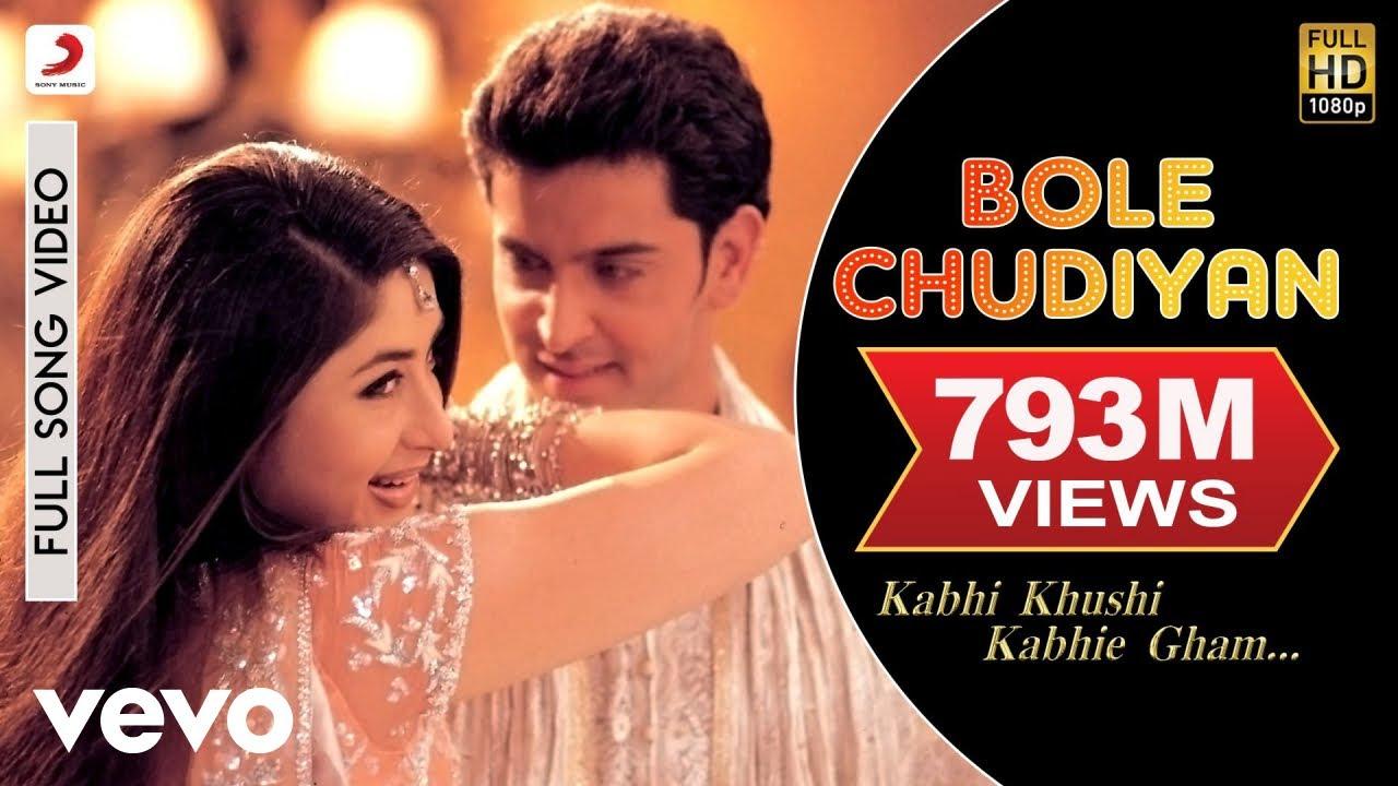 Bole Chudiyan – Amit Kumar, Sonu Nigam, Alka Yagnik Lyrics