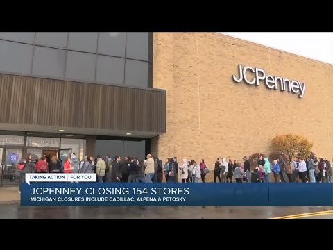 JC Penney closing 154 stores