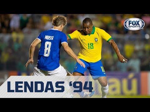 DESSA VEZ, DEU ITÁLIA! Lances de Brasil 0 x 1 Itália na reedição da final de 1994