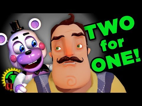 GTLive: Double the FRIGHT! | FNAF 6 + Hello Neighbor