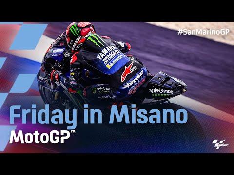 MotoGP 2021 第14戦サンマリノ 金曜日ハイライト動画
