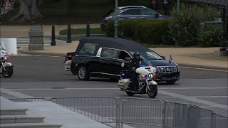 Casket of Rep. John Lewis arrives at US Capitol