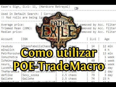 Steam Community :: Video :: COMO UTILIZAR POE-TradeMacro | GUÍA