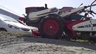 ヤンマー、セル付き耕運機