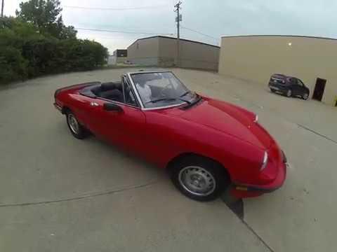 Video of '85 Spider - O9V1