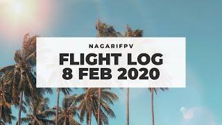 NagariFPV Flight Log | 8 February 2020 | First Flight With a Friend