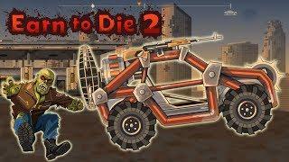 Игры машины гонки зомби апокалипсис Earn To die 2 игры зомби выживание Серия 1