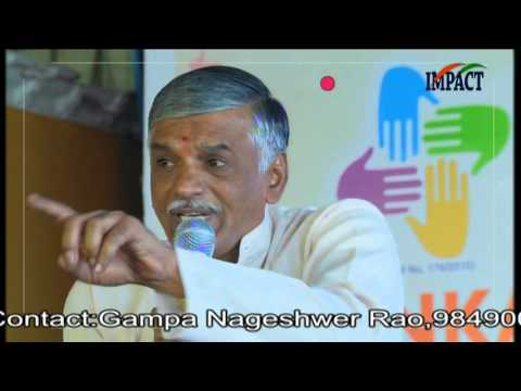 Greatness Of India|Appala Prasad|TELUGU IMPACT Karimnagar 2016