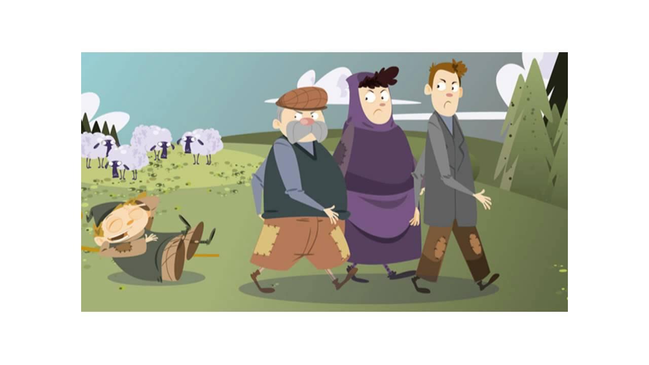 Cuento: El pastorcito mentiroso