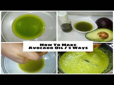 100% Pure Avocado Oil For Skin And Hair  #2methods