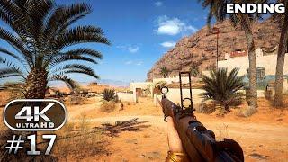 Battlefield 1 4K Gameplay Walkthrough Part 17 - BF1 Campaign 4K 60fps