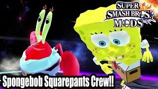 Brawl Hacks - Giant Mr  Krabs Vs Giant Squidward - Nightbane