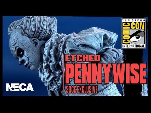 Neca IT - CA - IL est revenu - SDCC 2019 Exclusive - Ultimate Etched Pennywise