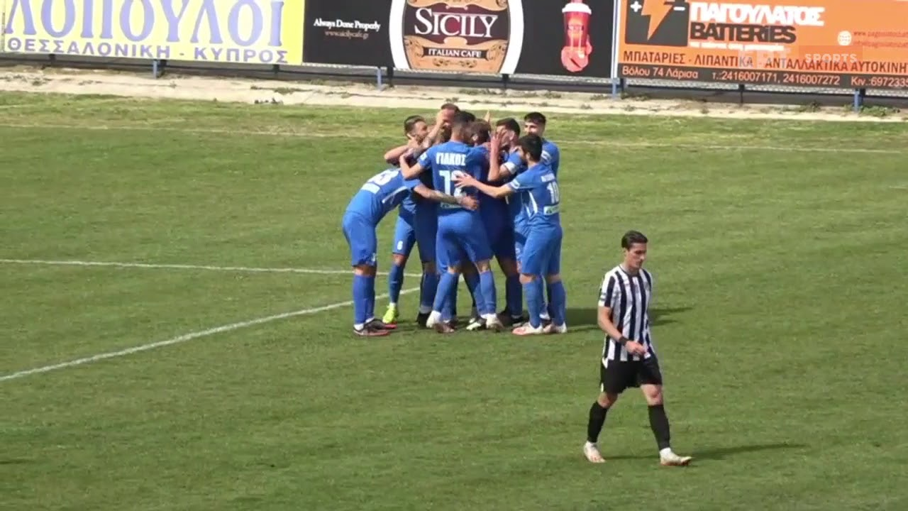 Super League 2 | Απ. Λάρισας – ΟΦΙ: Το 1-0 ο Βαγγέλης Μόρας σαν… φορ | 17/03/21 | ΕΡΤ