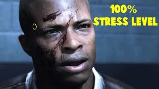 What an Android do When Reaching 100% Of Stress Level -The Interrogation Scene- Detroit Become Human