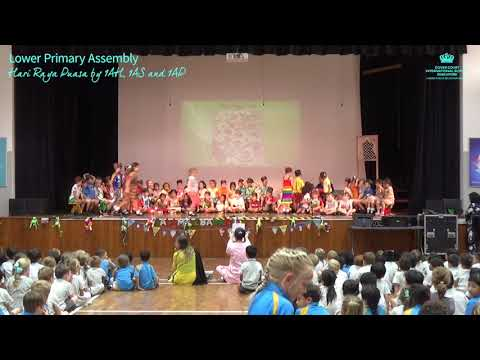 Lower Primary Assembly: Hari Raya Puasa by 1AH, 1AS and 1AP