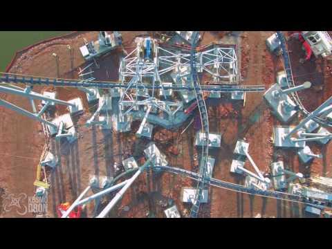 Lech Coaster Chorzow z drona