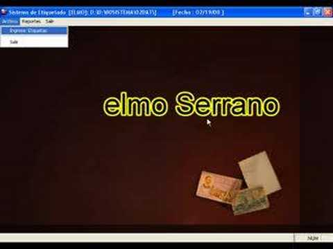 Episodio 1: Diseño de Software de Etiquetado, Chimbote, Peru