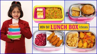 MONDAY To SATURDAY Kids LUNCH BOX Recipes | #Snacks #Winter #Anaysa #CookWithNisha