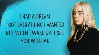 Billie Eilish   Everything I Wanted (Lyrics)