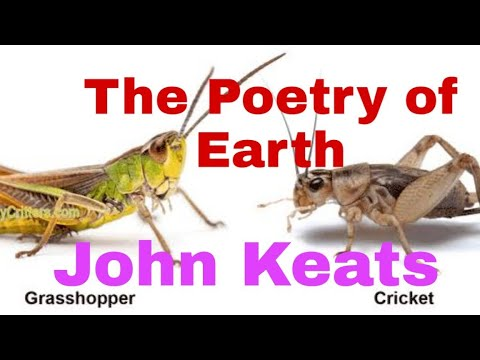 Download The Poetry Of Earth By John Keats Line By Line Analysis Of