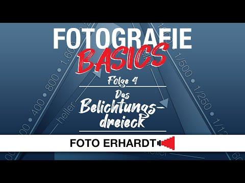 Fotografie Basics - Folge 4: Das Belichtungsdreieck