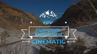 FPV Drohnenflug Region Engstlen Berner Oberland (ImpulseRc Apex mit GoPro Hero8)