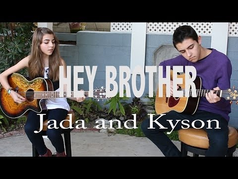 Aviciis Hey Brother Cover By Jada Facer And Kyson Facer Chords