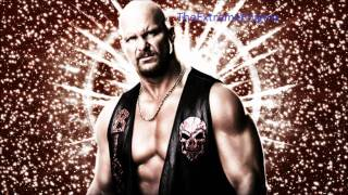 "Stone Cold Steve Austin 8th WWE Theme Song ""Glass Shatters"""