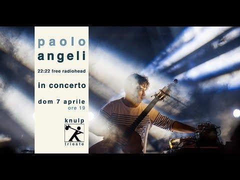 Paolo Angeli live@knulp 7 aprile 2019