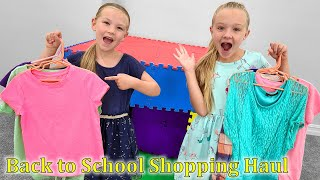 Back To School Shopping Haul! Our Favorite Store  is Shut Down!!!