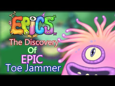 EXCLUSIVE NEW EPIC TOE JAMMER REVEAL - My Singing Monsters