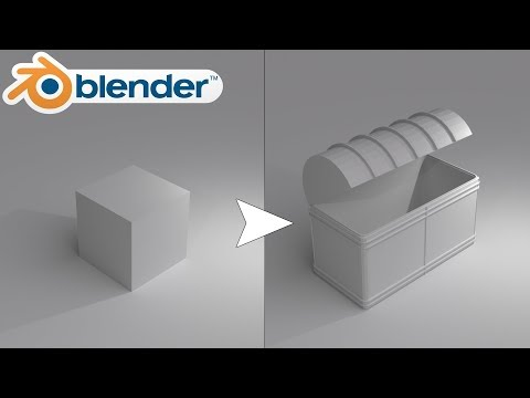 Modelling in Blender For Absolute Beginners