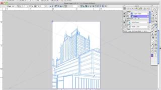 How to Draw Manga with Sen and Kai - Buildings 2 & 3 Point Perspective