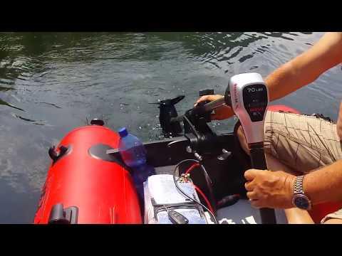 Rhino BLX 70 elektromos csónakmotor videó