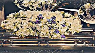Michael Jackson burial / The Gold Crown! (Funeral, Beerdigung) Final farewell