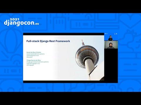 DjangoCon2021 | Full stack Django Rest Framework | Thiago Garcia da Silva & Israel da Silva Teixeira thumbnail
