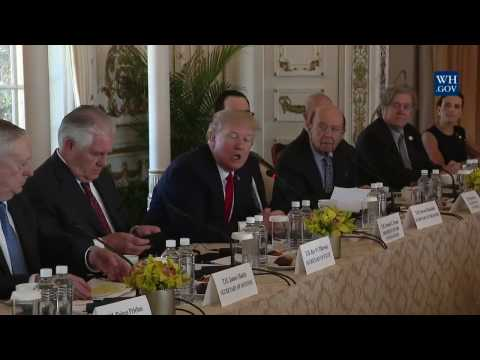 President Trump Leads an Expanded Bilateral Meeting with President Xi Jinping of China