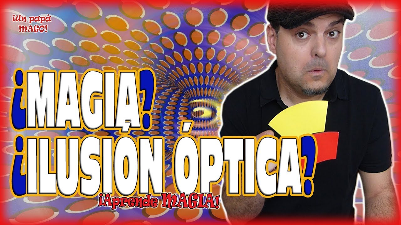 ¿MAGIA O ILUSIÓN ÓPTICA? | APRENDE MAGIA | Is Family Friendly