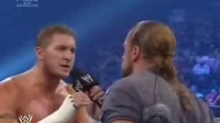 HHH Talking About unforgiven & Kenny Dykstra lol