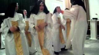 preview picture of video 'Apáca show Bicske Farsangi bál'