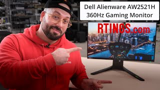 Video: Dell Alienware AW2521H (2020) Review – A 360Hz Gaming Monitor
