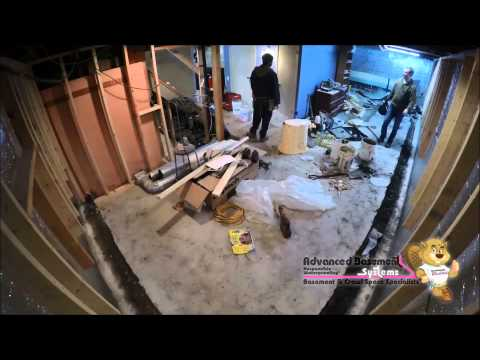Ever wonder how we at Advanced Basement Systems waterproof basements from the interior? Did you just schedule an appointment with us and want to know what to expect during installation?