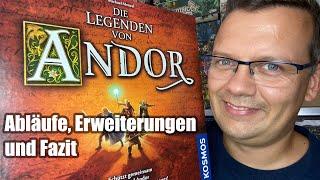Die Legenden von Andor von Kosmos (Abläufe, Überblick, Erweiterungen, Fazit) - ab 10 Jahre