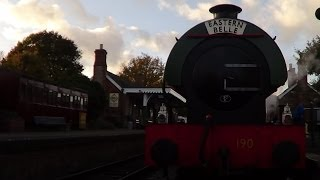 preview picture of video 'Living the steam - Colne Valley Railway'