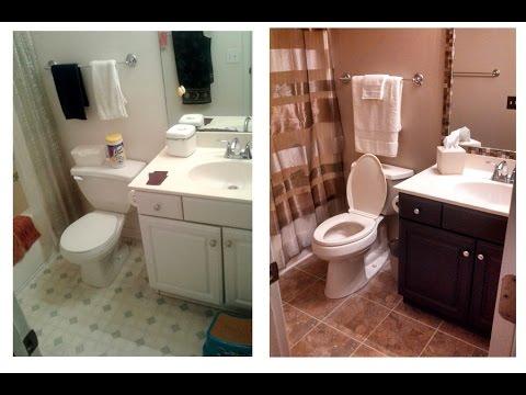 Small Bathroom Renovation DIY