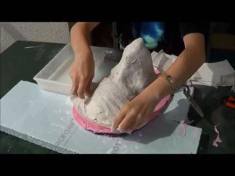 Comme faire le masque de gélatine sur la personne sèche