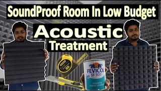 How To Soundproof Room In Cheap and Low Budget | Acoustic Panels Treatment  | We Digital