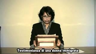 Testimonianza di una donna immigrata